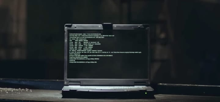 Army hacking cyber security ad