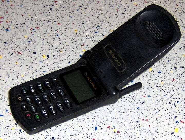 an old phone that is in no way smart