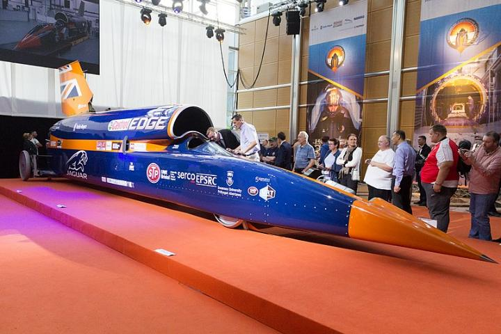 Supersonic car hits the brakes at a financial roadblock