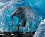 Woolly Mammoth in ice