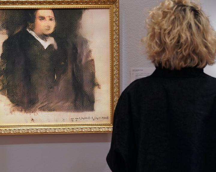 French art collective trains AI to paint portraits