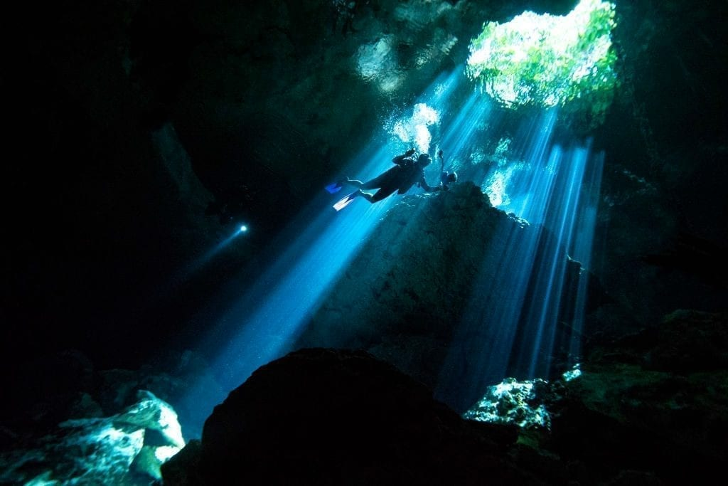 Divers discover priceless treasure in the largest underwater cave system