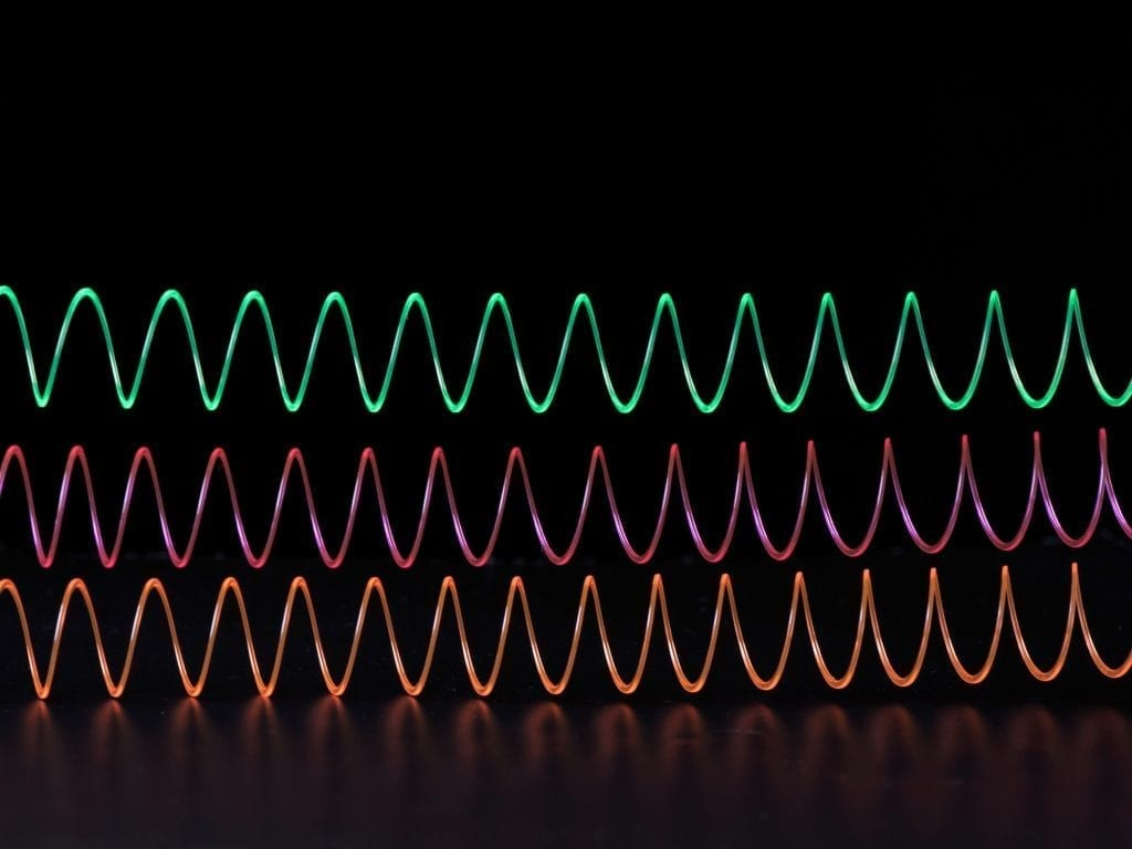 Scientists are creating slinky-shaped magnetic waves
