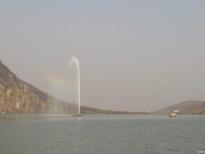 Lake nyos degassing
