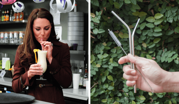 Plastic and reusable straws