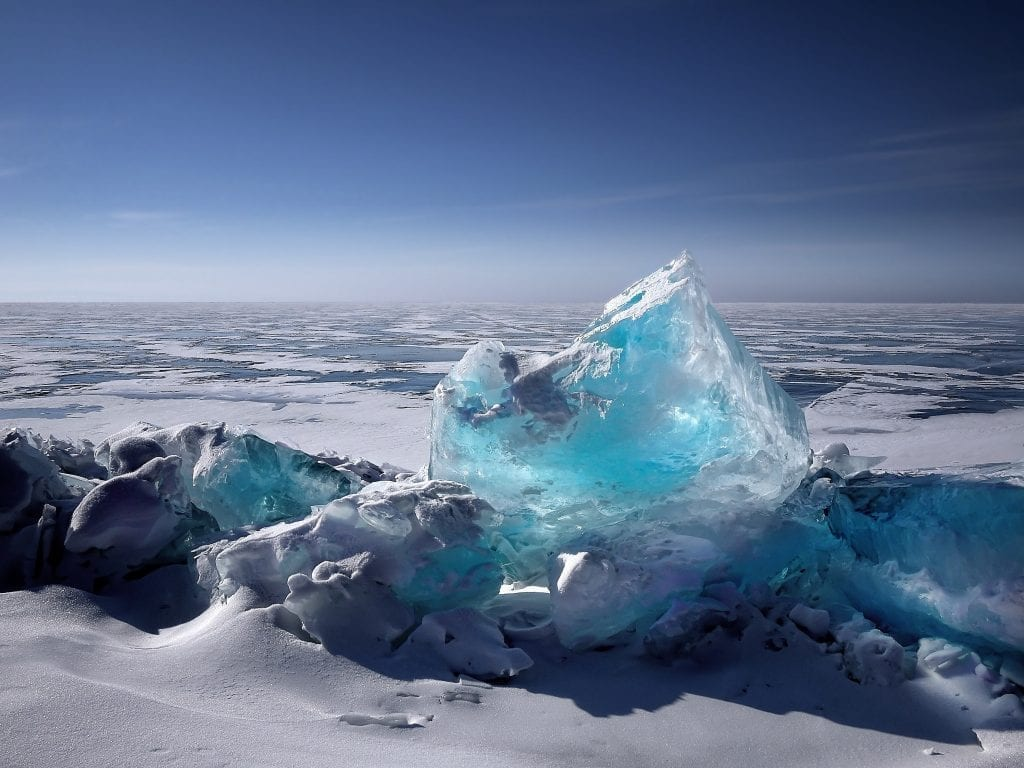 The reasons ice usually looks cloudy, not clear