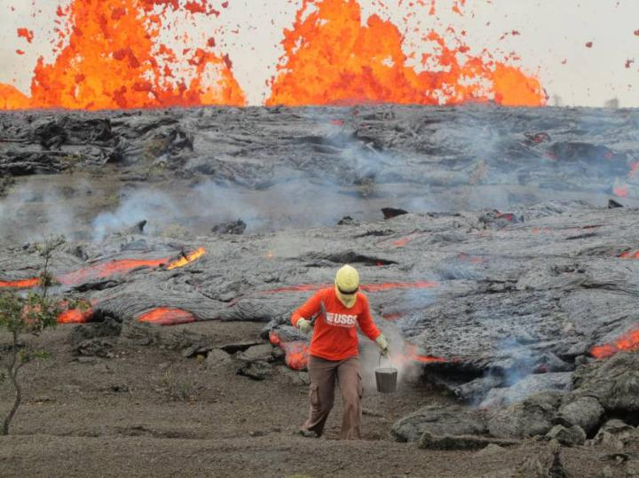 5 of the most active volcanoes in the US, as chosen by government scientists