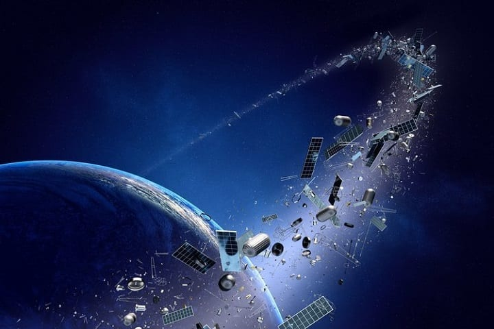 On-orbit servicing is the solution to space trash