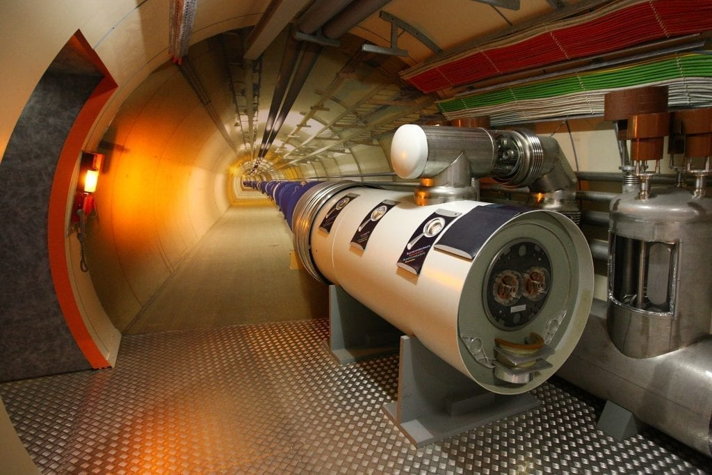 """CERN scientists may have discovered a new """"ghost particle"""""""