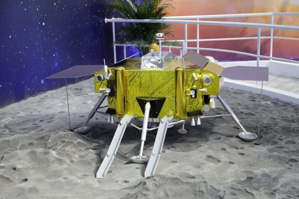 There's now cotton growing on the moon