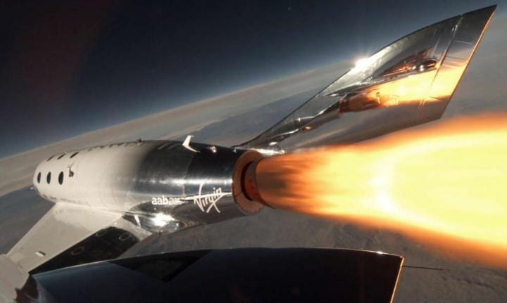 Will tourists be able to explore space with Virgin Galactic?