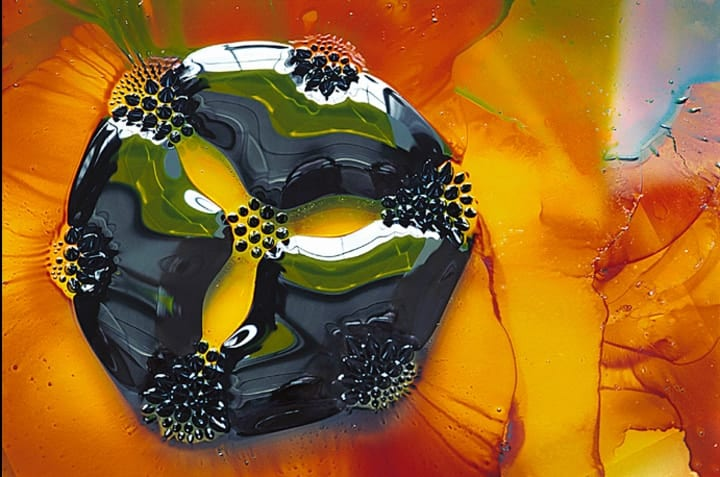 Ferrofluid photo science art