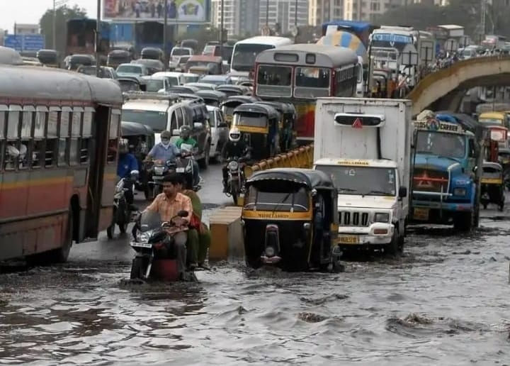 Mumbai flooded climate change
