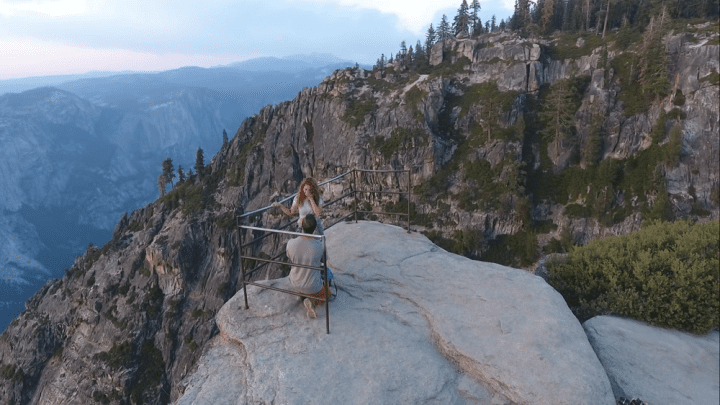 people proposing at yosemite national park
