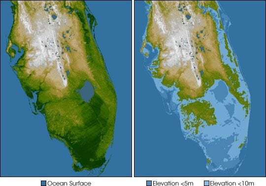 Florida flooding climate change