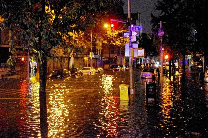 New york city flooding hurricane