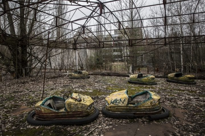 abandoned theme park in russia