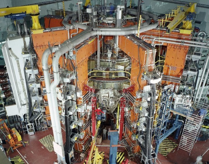 nuclear reactor doing something fishy
