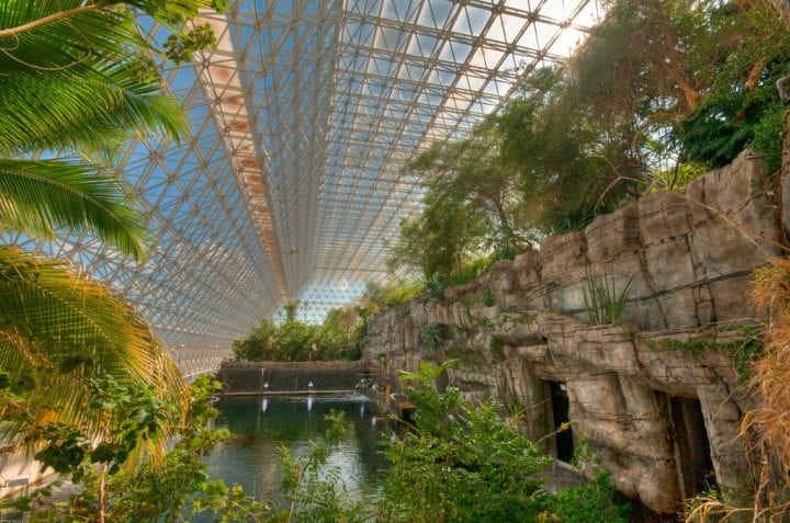 biodome rainforest