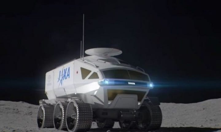 Toyota Reaches New Heights By Putting A Rover On The Moon