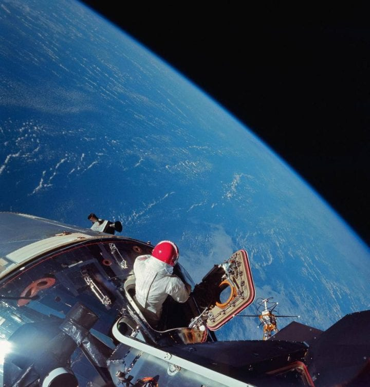 Apollo 9 astronaut dave scott NASA photos