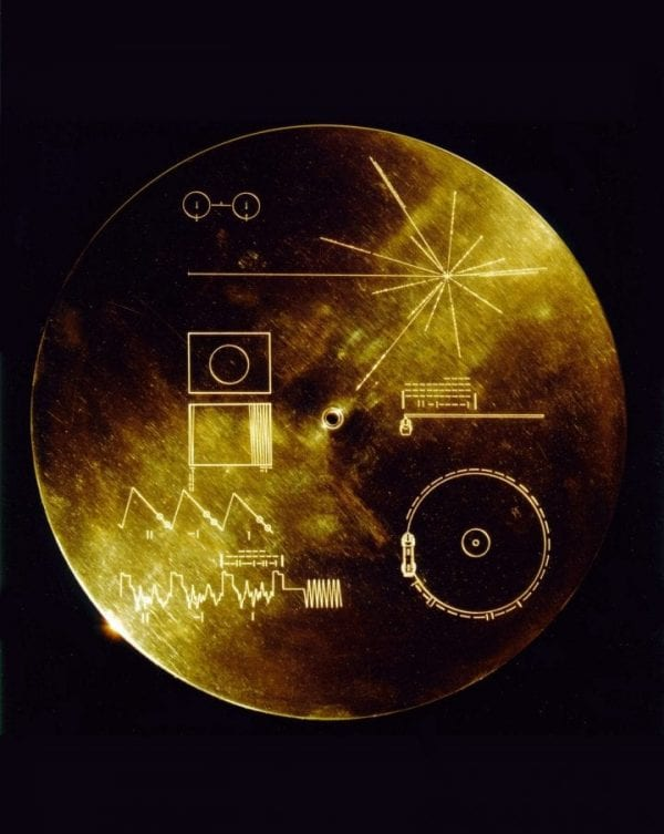 Golden record NASA Voyager