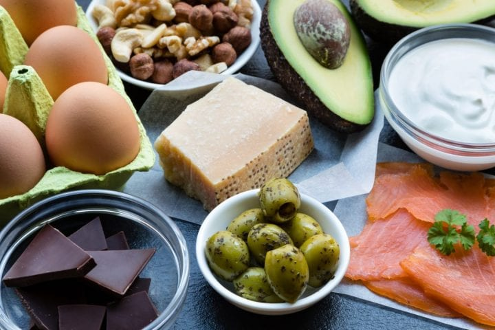 Fats foods keto diet health