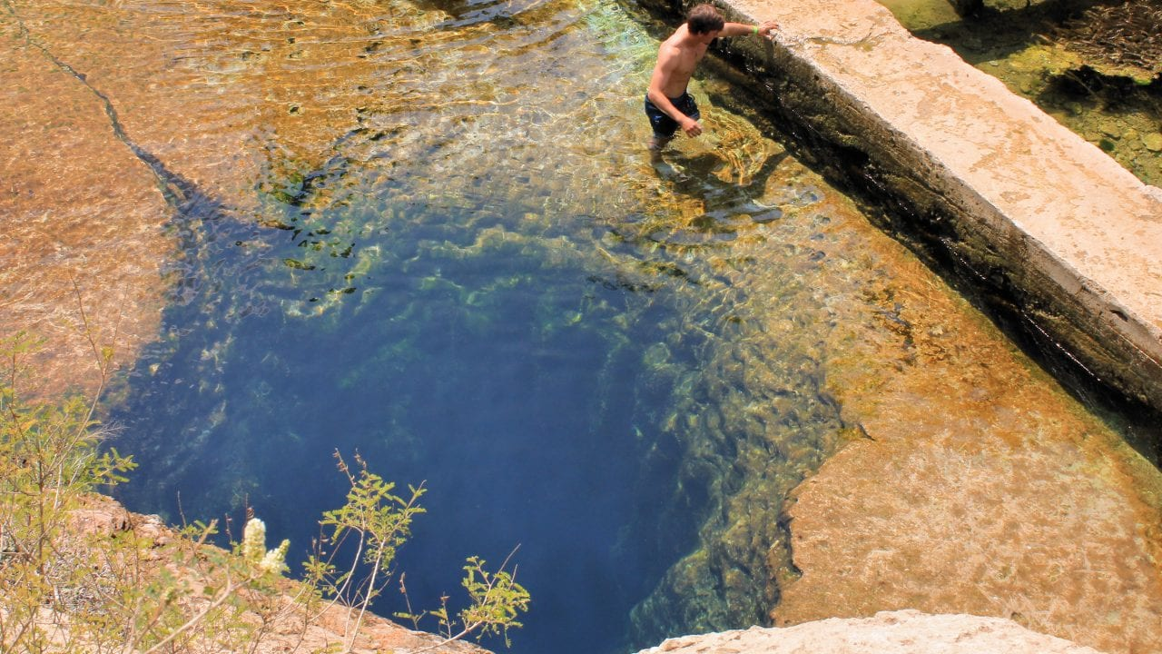 Jacob's well texas creepy place natural
