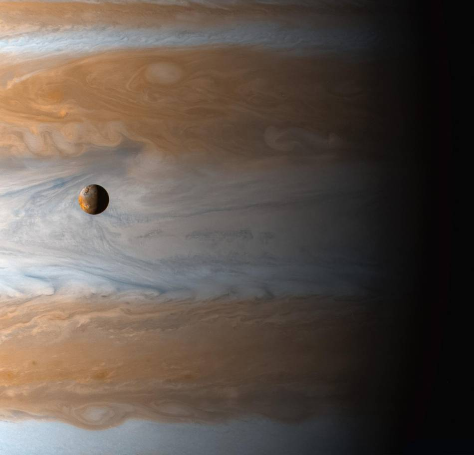 Jupiter moon cassini NASA photos