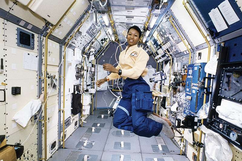 Mae Jemison NASA photos