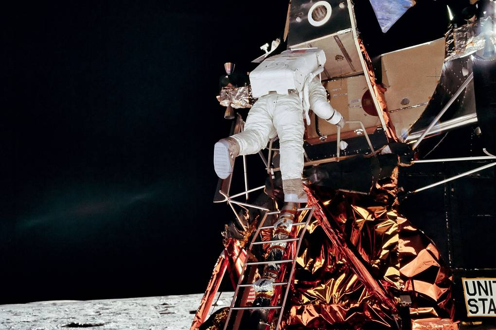 Apollo Neil Armstrong moon landing NASA photos