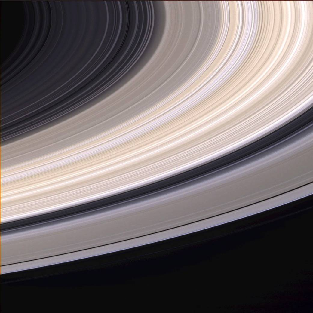 Saturn rings NASA photos