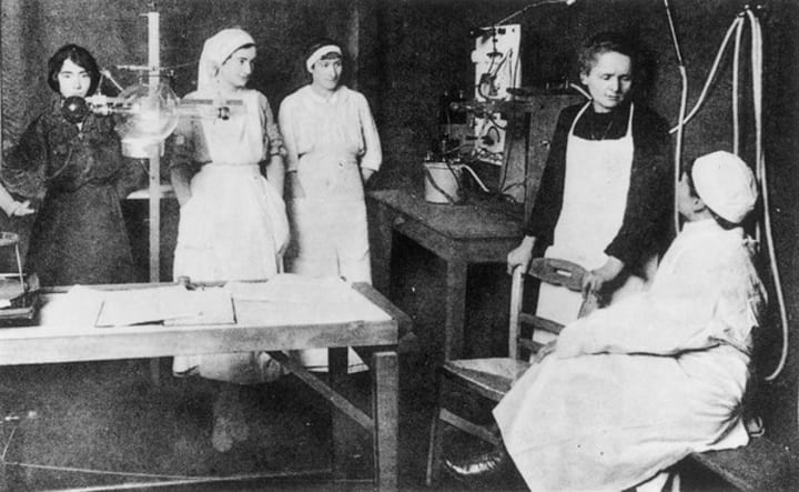 Marie Curie Radium Girl Treatment