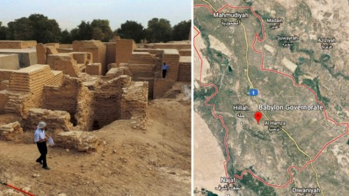 two pictures of babylon
