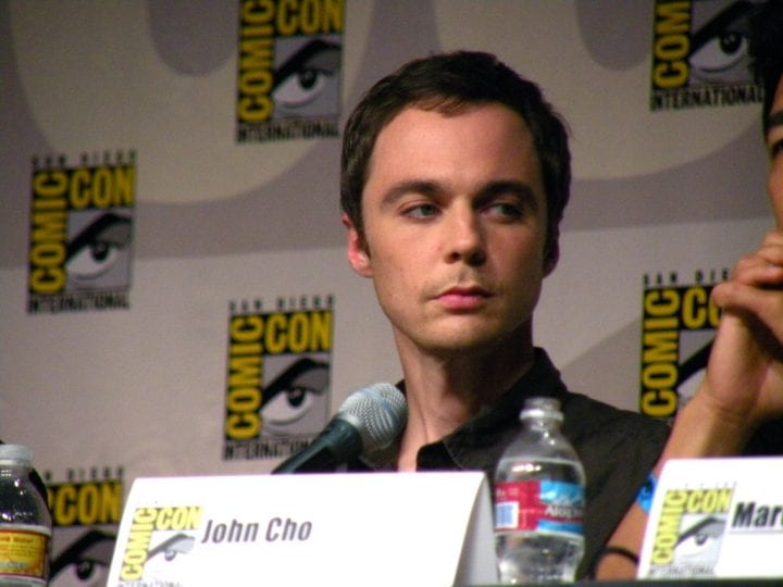 jim parsons at comic con