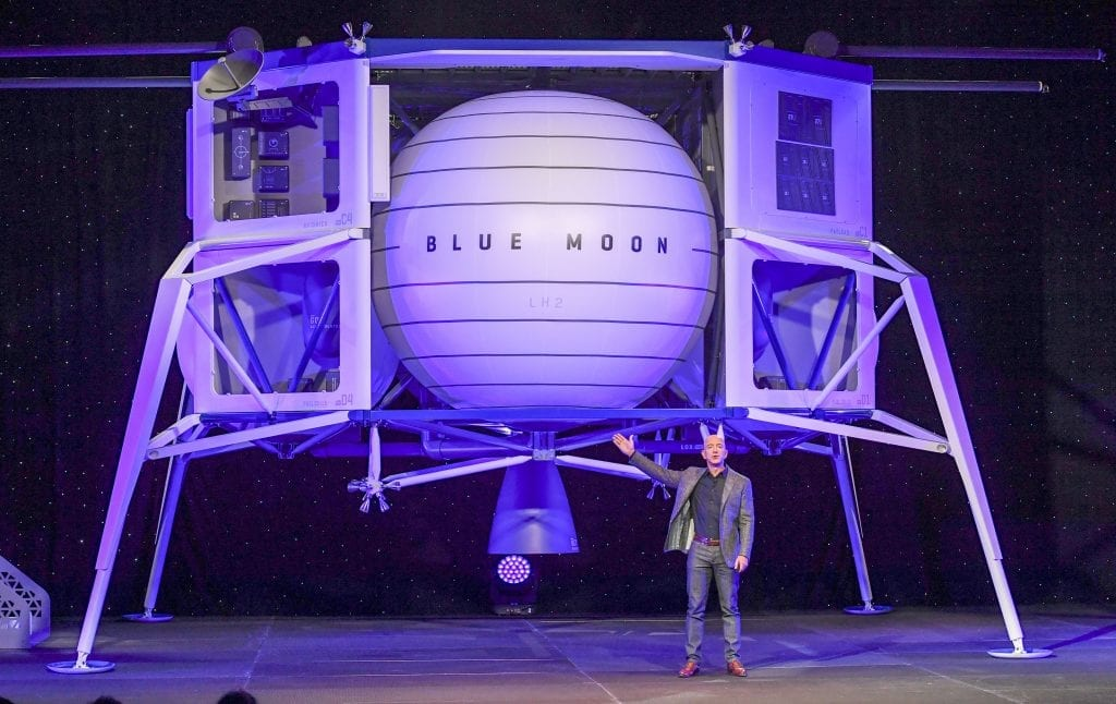 Blue origin moon lander jeff bezos