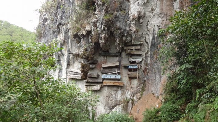 Hanging coffins philippines creepy place