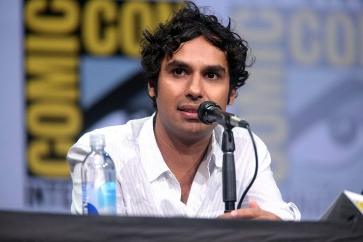 kunal nayyar at comic con