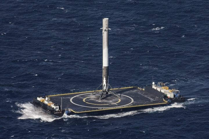 SpaceX drone ship Falcon 9 rocket Of Course I Still Love You