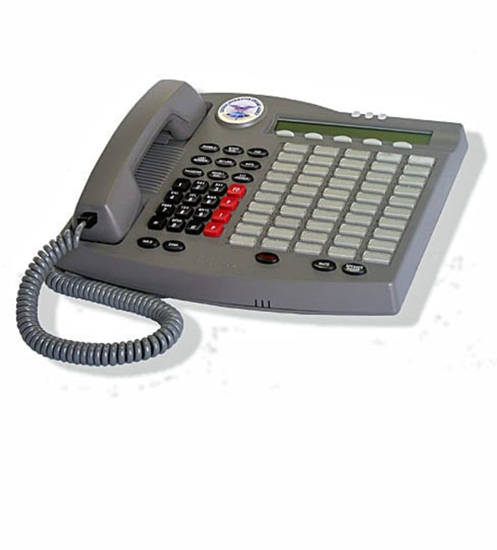 The IST-2 secure phone used in the Oval Office