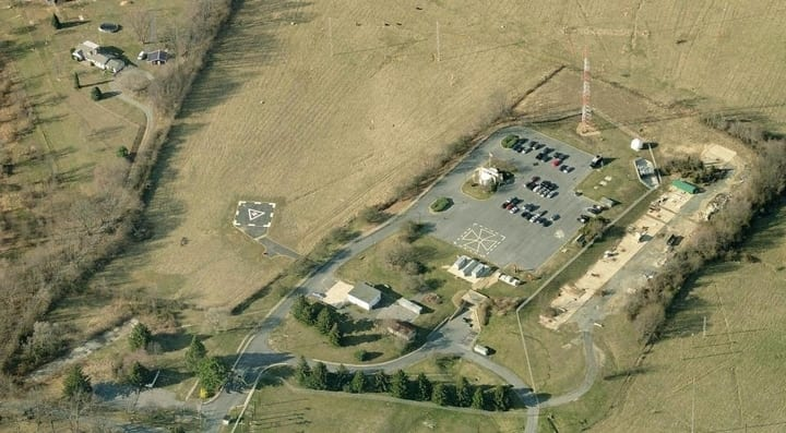 Ariel view of Olney Federal Support Center