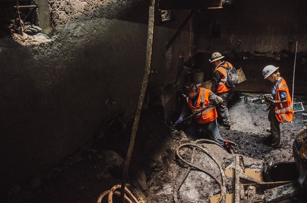 The Los Angeles subway system has been hiding this for over 11,000 years