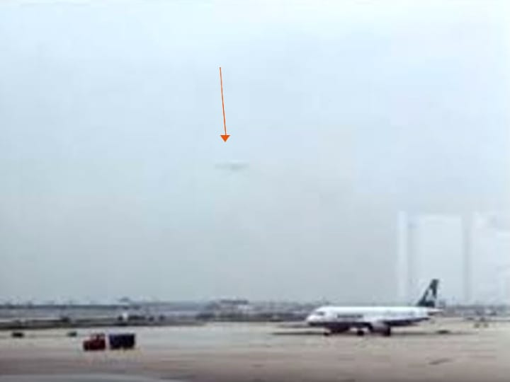 O'hare Airport UFO, unexplained sighting, weather event