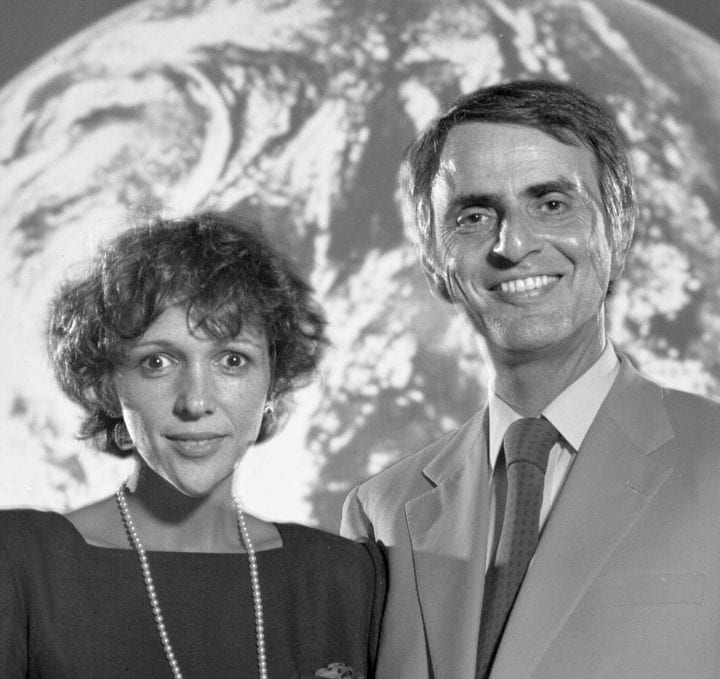 Ann Druyan and Carl Sagan Golden Record brainwaves sent to space