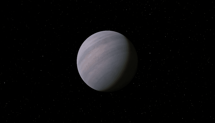 Planet Gliese 581d exoplanet