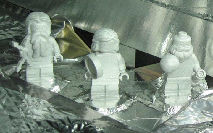 Lego figurines juno spacecraft jupiter sent to space