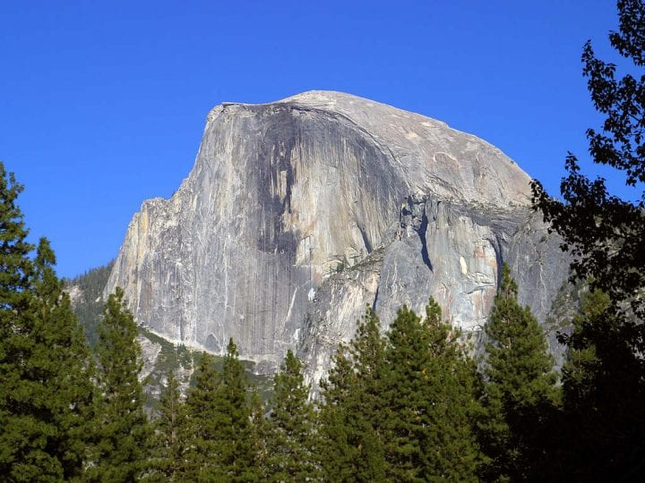 half dome from a certain view