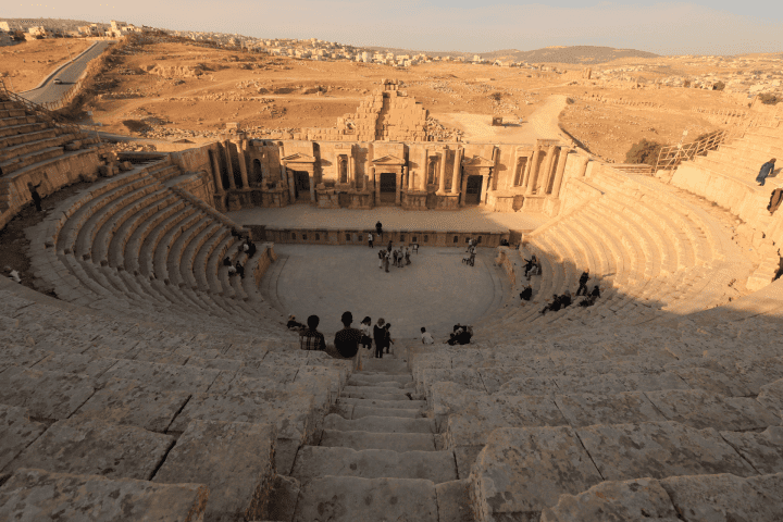 a theatre in the middle of the desert