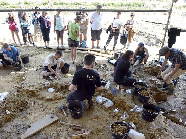 Angeac-Charente, dig site, museum
