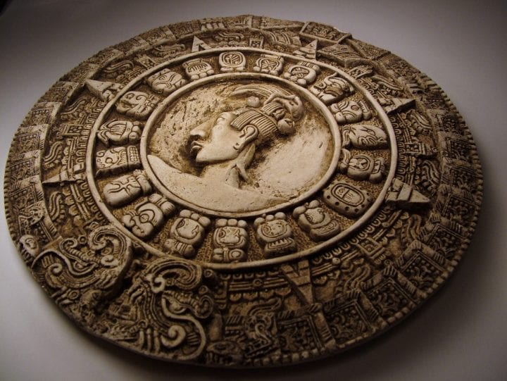 math dial used by the mayans